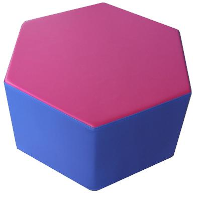 POUF HEXAGONAL